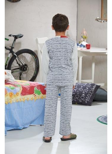 Baskılı Erkek Ç. Pijama Takımı-Zeyzey